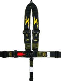 Impact - Impact Standard Latch & Link Restraint System  - V-Type Shoulder Harness / Pull Up Adjust