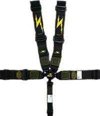 Impact - Impact Standard Camlock Restraint System - Individual Shoulder Harness / Single RH Side Pull Down Adjust