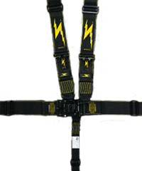 Impact - Impact Integrated Latch & Link Restraint System  - Individual Shoulder Harness / Pull Down Adjust