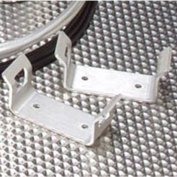 Safecraft Flat Mounting Brackets (Pair) - Surface Mount - Fits Model LT-10