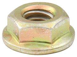 Allstar Performance - Allstar Performance Gold Spin Lock Nuts - (10 Pack)