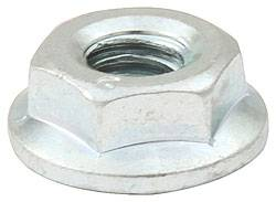 Allstar Performance - Allstar Performance Silver Spin Lock Nuts - (10 Pack)