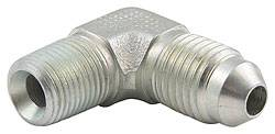 "Allstar Performance - Allstar Performance 90° Steel Adapter - 1/8""NPT To -3AN"