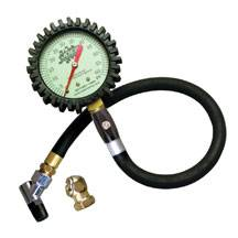 Joes Racing Products - JOES Glow in the Dark Pressure Gauge w/Hold Valve 0-30 PSI