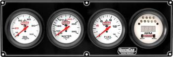 QuickCar Racing Products - Quickcar Extreme 3-1 Gauge Panel