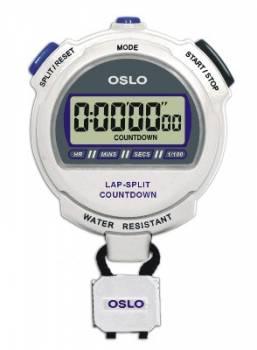 Robic - Robic OSLO Silver 2.0 Twin Chronograph & Countdown Timer