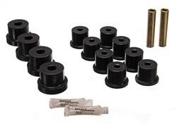 Energy Suspension - Energy Suspension Leaf Spring Bushings - Gray - Fits 1967-69 Camaro, Firebird (Mono Leaf Spring)