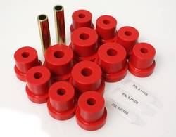 Energy Suspension - Energy Suspension Leaf Spring Bushings - Red - Fits 1970-72 Camaro, Firebird