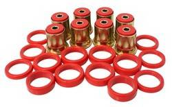 Energy Suspension - Energy Suspension Rear Control Arm Bushings - Fits 66-87 Century, 67-88 Chevelle - Monte Carlo - Red