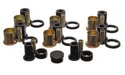 Energy Suspension - Energy Suspension Rear Control Arm Bushing Set - Rear - Polyurethane -Black - Chevy, Oldsmobile, Pontiac