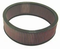 """K&N Filters - K&N Performance Air Filter - 14"""" x 4-1/2"""" - Universal"""