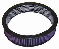 """K&N Filters - K&N Performance Air Filter - 14"""" x 3-1/16"""" - Universal"""