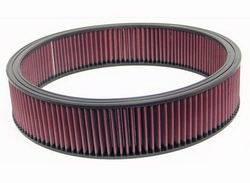 """K&N Filters - K&N Performance Air Filter - 16-1/4"""" x 3-1/2"""" - Universal"""