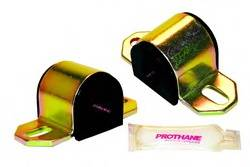 "Prothane Motion Control - Prothane Universal Sway Bar Bushings (Pair) - Front, Rear Sway Bar - Polyurethane - Black - 15/16"" Diameter - Fits ""B"" Bracket"