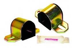 "Prothane Motion Control - Prothane Universal Sway Bar Bushings (Pair) - Front, Rear Sway Bar - Polyurethane - Black - 1"" Diameter - Fits ""B"" Bracket"