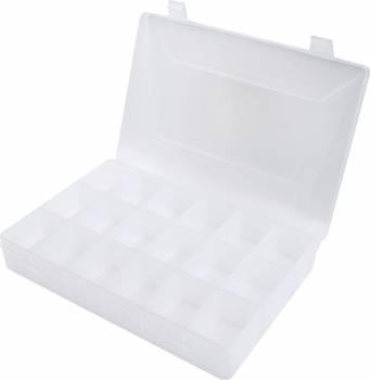 "Allstar Performance - Allstar Performance Plastic Storage Case - 18 Compartment - 11"" x 7"" x 1.75"""