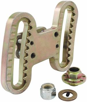 "Allstar Performance - Allstar Performance Radiused Climbing Style Frame Mount Panhard Bar Bracket - 2"" Radius"
