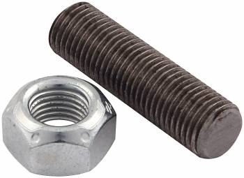 "Allstar Performance - Allstar Performance Suspension Limiter Chrome Moly Stud With Jam Nut - 7/16""-20"