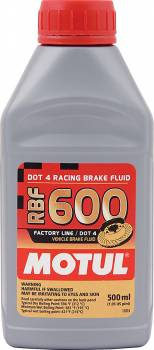 Motul - Motul 600 Brake Fluid - 16.9 oz.