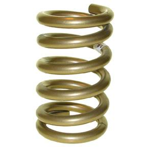 "Landrum Performance Springs - Landrum 9.5"" Gold Coil Front Spring - 5"" O.D. - 550 lb."