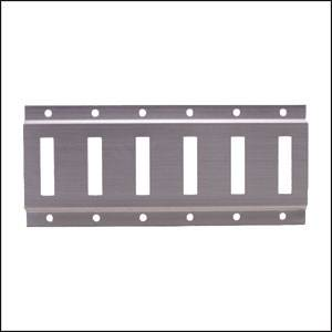 Mac's Custom Tie-Downs - Mac's E-HOR-8 E-Track, Horizontal 8' - Black