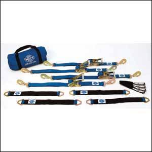 Mac's Custom Tie-Downs - Mac's Ultra Pack - 8 Foot with Direct Hook Ratchets