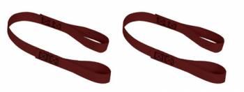 "Mac's Custom Tie-Downs - Mac's Soft Loops - 1"" x 24"" - Black - (Set of 2)"