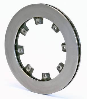 "Wilwood Engineering - Wilwood Ultralight 32 Straight Vane Rotor - 8 Bolt - .810"" Width - 11.75"" Diameter - 7"" Bolt Circle - .326"" Hole - 8.1 lbs."