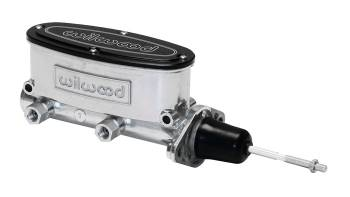 "Wilwood Engineering - Wilwood Aluminum Tandem Master Cylinder - .875"" Bore - Polished"