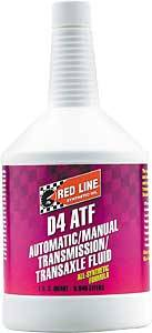 Red Line Synthetic Oil - Red Line D4 ATF - 1 Quart (Case of 12)