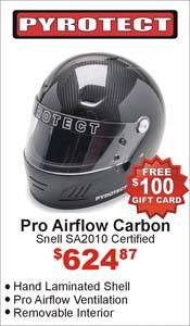 Pyrotect Carbon Fiber Helmet