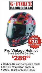 G-Force Pro Vintage Helmet