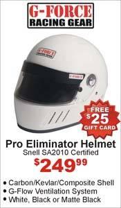 G-Force Pro Eliminator Helmet