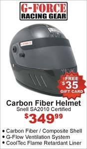 G-Force Pro CFG Carbon Fiber Helmet