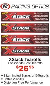 Racing Optics XStack Tearoffs