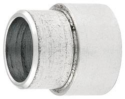"Allstar Performance - Allstar Performance - Reducer Spacers - 5/8"" To 1/2"" - 1/2"" Long x 3/4"" O.D. - Aluminum - (2 Pack)"