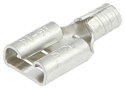 "Allstar Performance - Allstar Performance Non-Insulated Blade Terminals - Female .250"" - 16-14 Gauge - (20 Pack)"