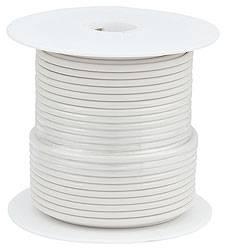 Allstar Performance - Allstar Performance Primary Wire - White - 100' Spool - 20AWG