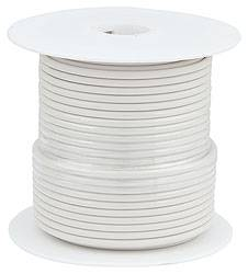 Allstar Performance - Allstar Performance Primary Wire - White - 100' Spool - 14AWG