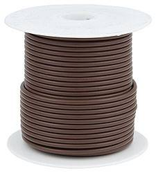 Allstar Performance - Allstar Performance Primary Wire - Brown - 100' Spool - 14AWG