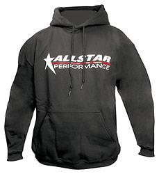 Allstar Performance - Allstar Performance Hooded Sweatshirt - Black - Youth Large