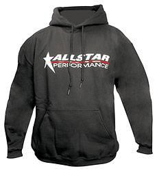 Allstar Performance - Allstar Performance Hooded Sweatshirt - Black - Youth Medium