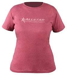 Allstar Performance - Allstar Performance Ladies Vintage T-Shirt - Burgundy - Small