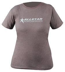 Allstar Performance - Allstar Performance Ladies Vintage T-Shirt - Charcoal - Large