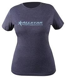Allstar Performance - Allstar Performance Ladies Vintage T-Shirt - Navy - Large