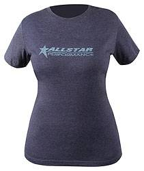 Allstar Performance - Allstar Performance Ladies Vintage T-Shirt - Navy - Medium