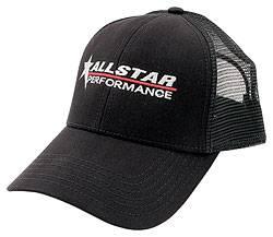 Allstar Performance - Allstar Performance Hat - Black - With Mesh Back
