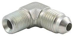 "Allstar Performance - Allstar Performance Adapter Fitting - Short - 90 Degree 1/8"" NPT To -4 - (10 Pack)"