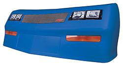 Allstar Performance - Allstar Performance Monte Carlo SS MD3 Nose - Chevron Blue - Left Side (Only)