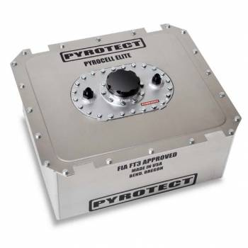 "Pyrotect Fuel Cells - Pyrotect PyroCell Elite Series Fuel Cell w/ Aluminum Can - 8 Gallon - 20.75"" L x 12.12"" W x 8.62"" H"